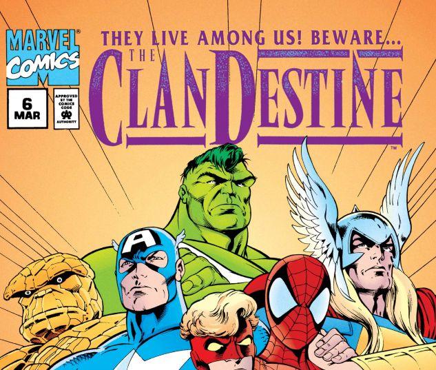 CLANDESTINE (1994) #6