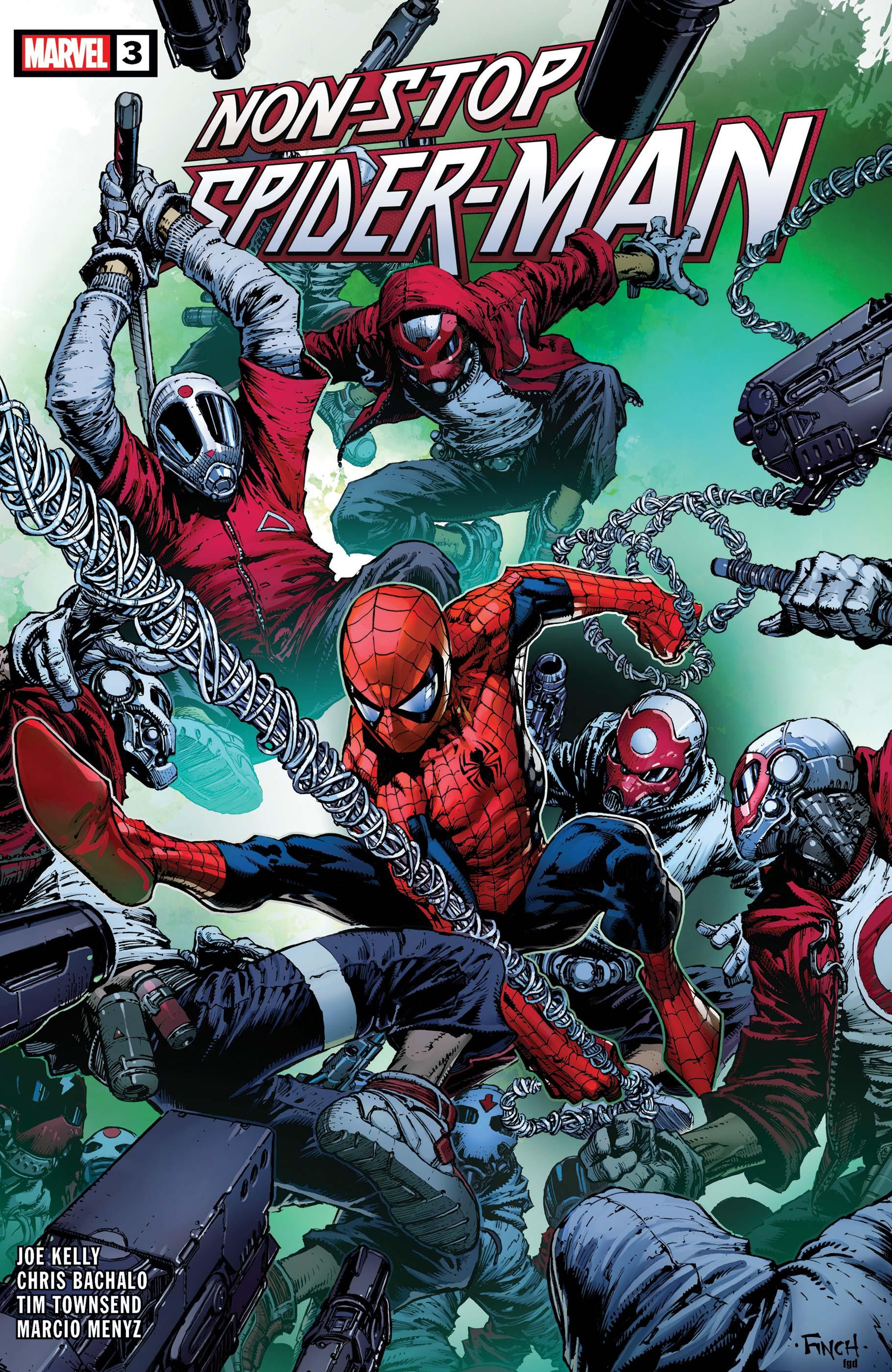 Non-Stop Spider-Man (2021) #3