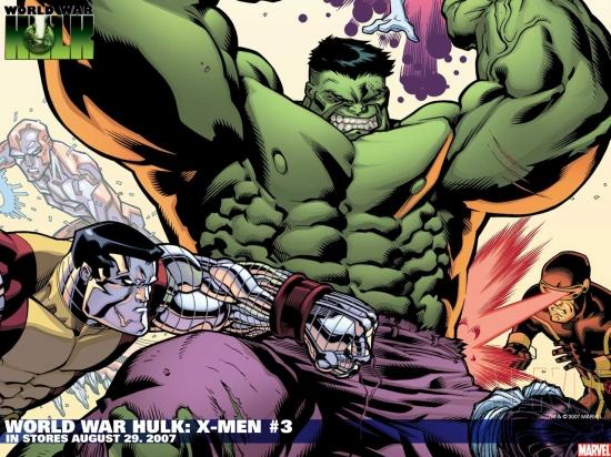WORLD WAR HULK: X-MEN #3
