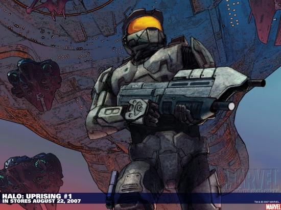 Halo: Uprising (2007) #1 Wallpaper