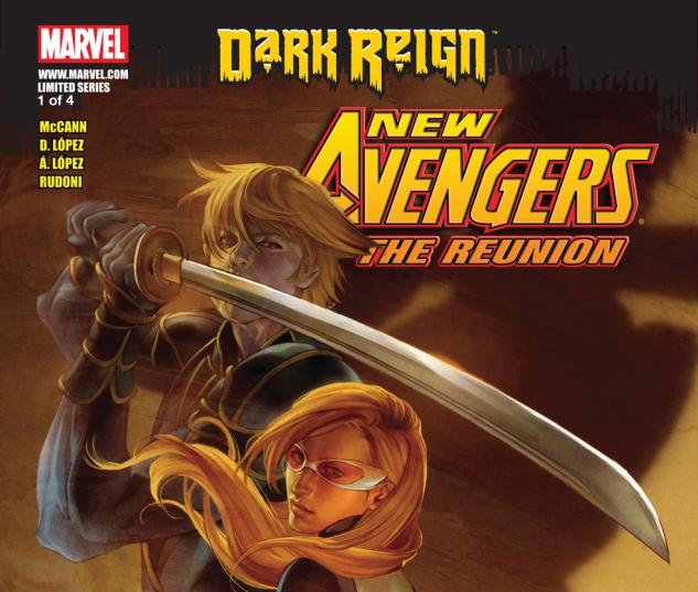 The Reunion (2009) #1 Cover
