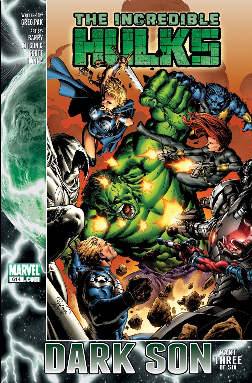 Incredible Hulks (2010) #614