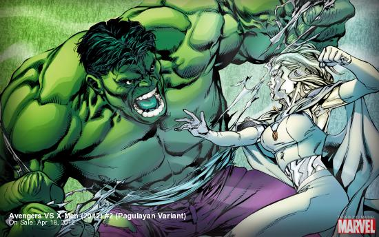 Avengers Vs. X-Men (2012) #2, Pagulayan Variant