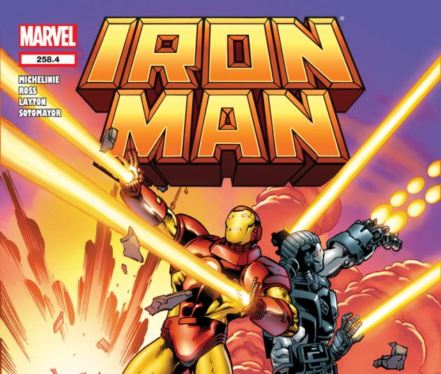 IRON MAN 258.4 (WITH DIGITAL CODE)