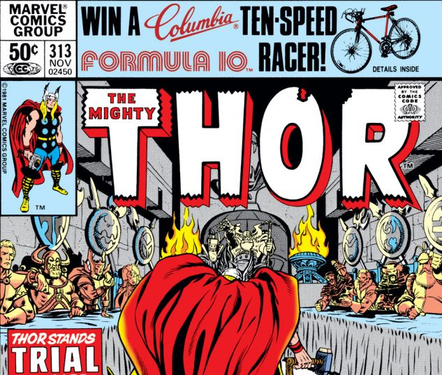 Thor (1966) #313 Cover