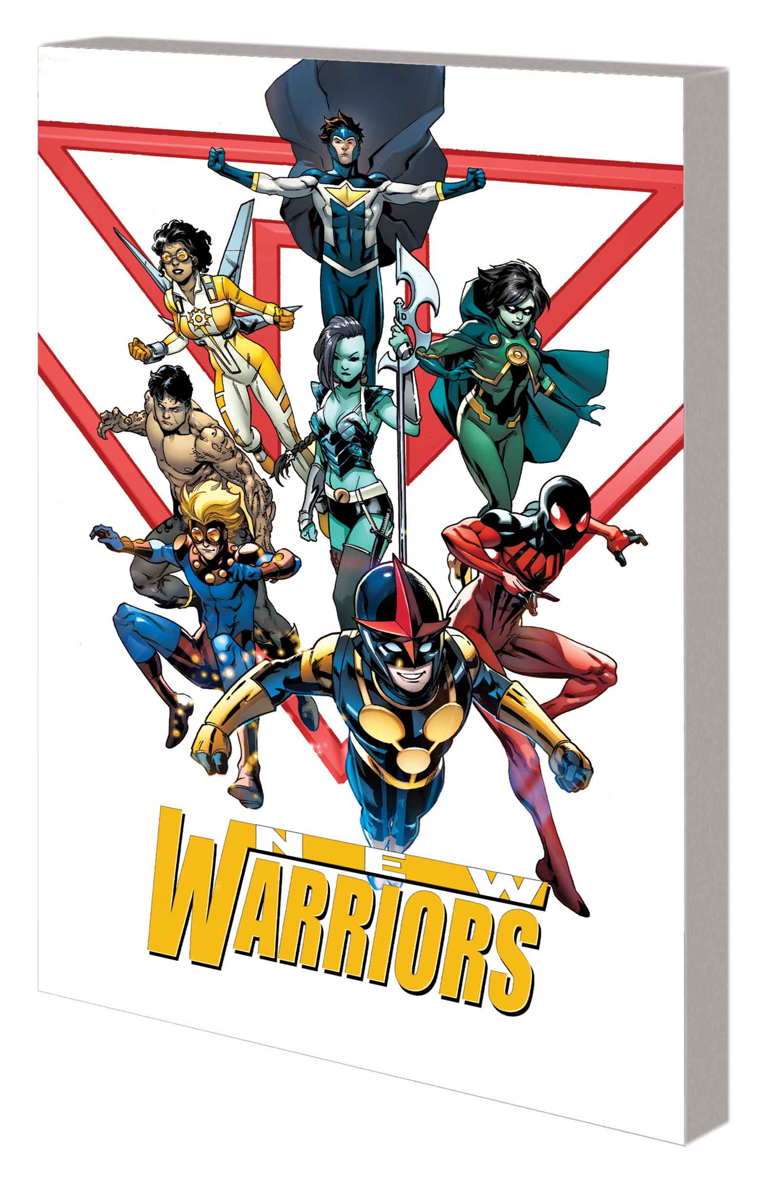 New Warriors Vol. 1: The Kids Are All Fight (Trade Paperback)