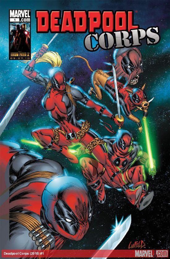 Deadpool Corps (2010) #1