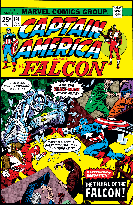 Captain America (1968) #191