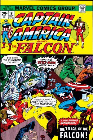 Captain America #191