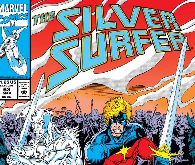 SILVER SURFER (1987) #63