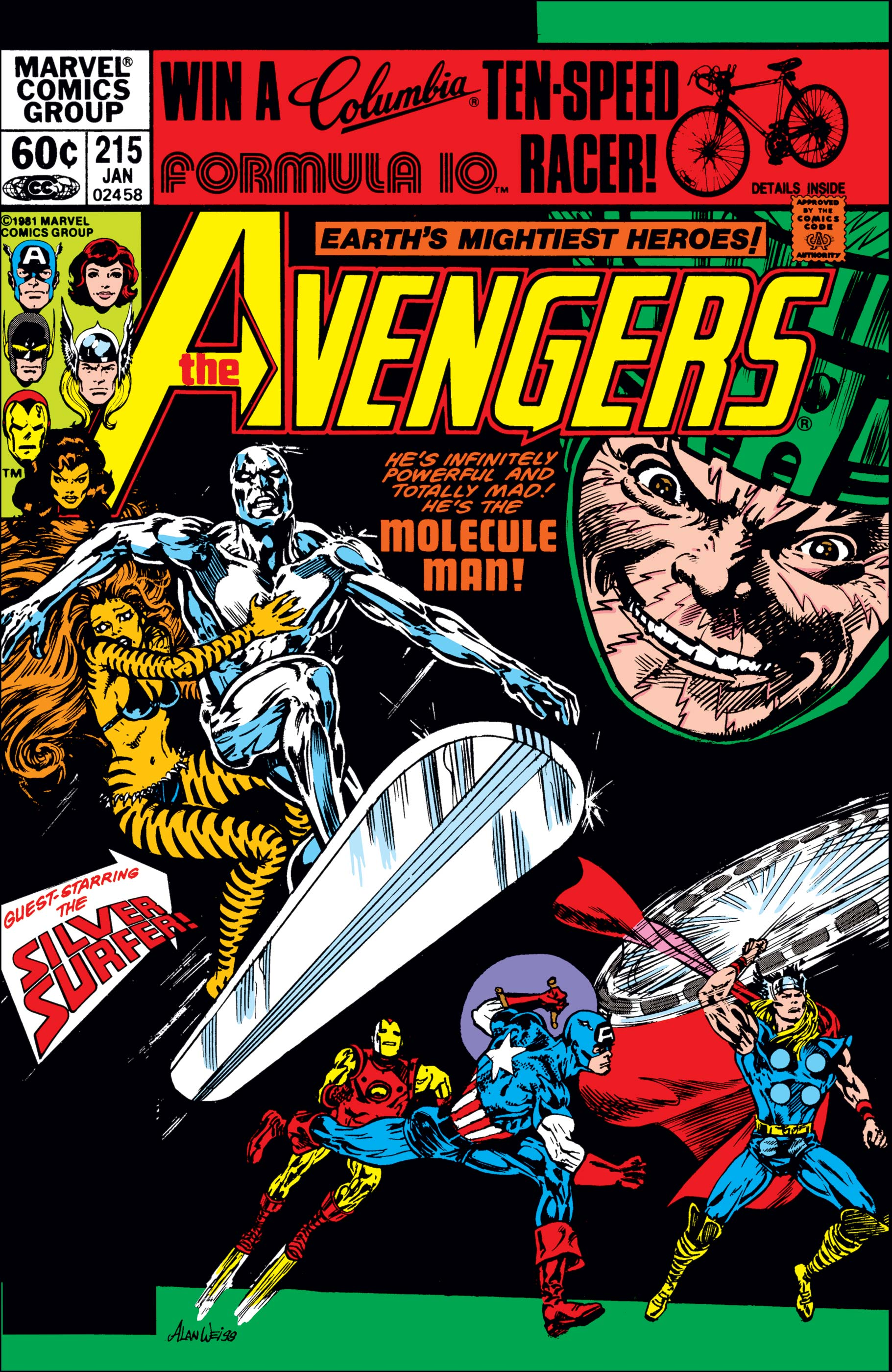 Avengers (1963) #215