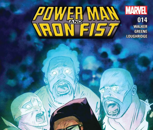 cover from Power Man and Iron Fist (2016) #14