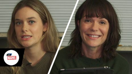 Ask Marvel: Katie Aselton and Rachel Harris