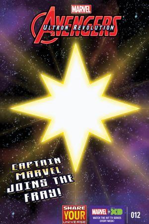 Marvel Universe Avengers: Ultron Revolution #12