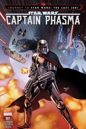 Journey to Star Wars: The Last Jedi - Captain Phasma (2017) #1