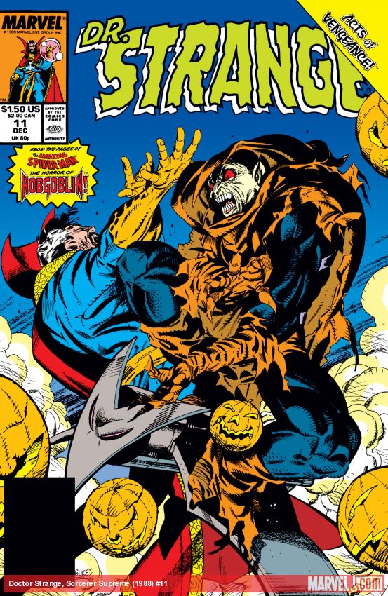 Doctor Strange, Sorcerer Supreme (1988) #11