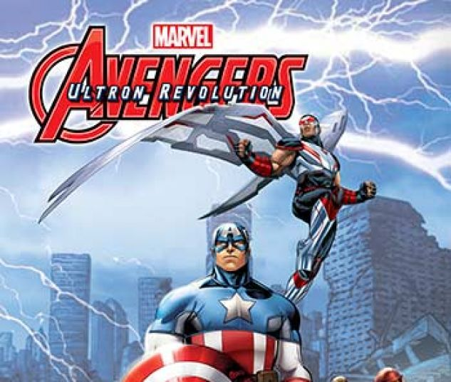 cover from Marvel Universe Avengers: Ultron Revolution (Digital Comic) (2017) #13