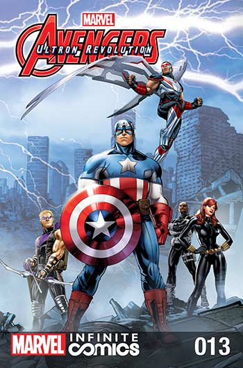 Marvel Universe Avengers: Ultron Revolution (2017) #13