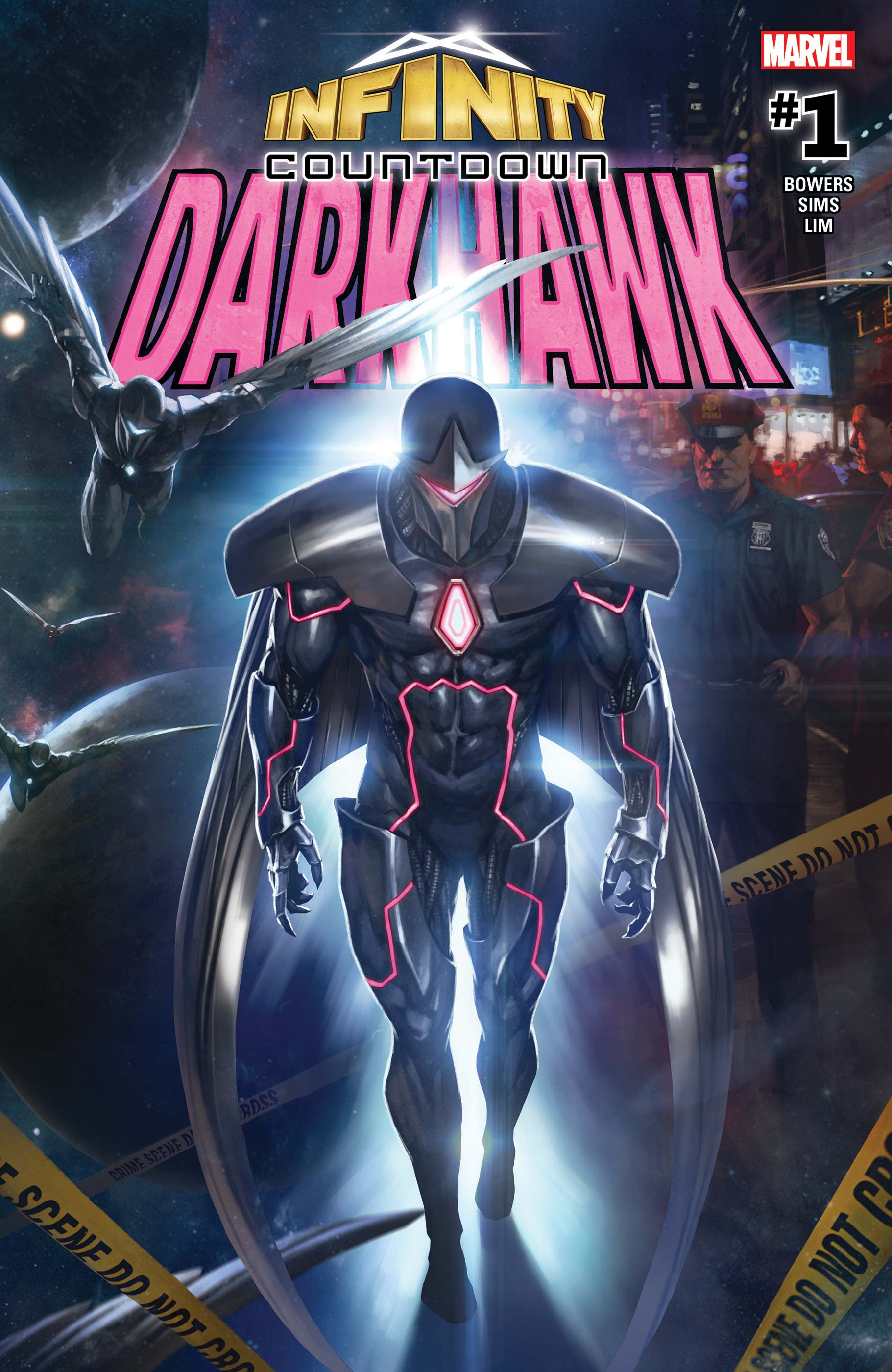 Infinity Countdown: Darkhawk (2018) #1