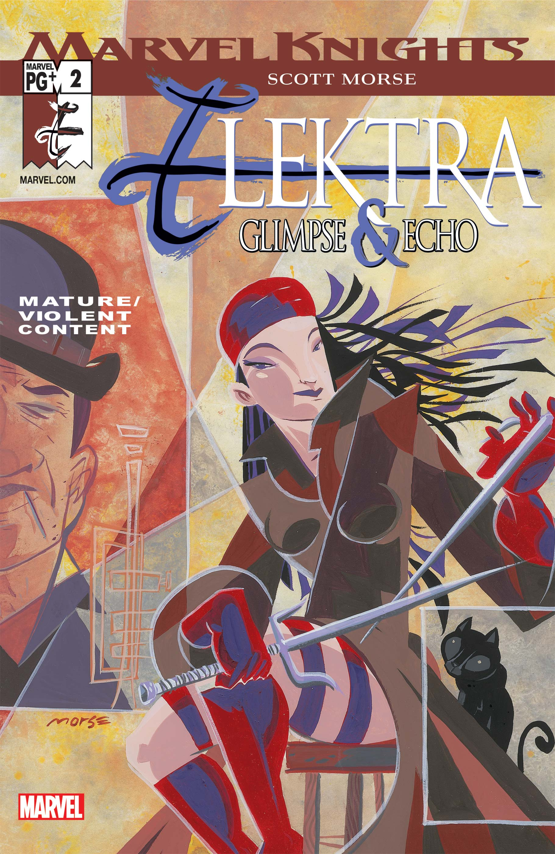 Elektra: Glimpse and Echo (2002) #2
