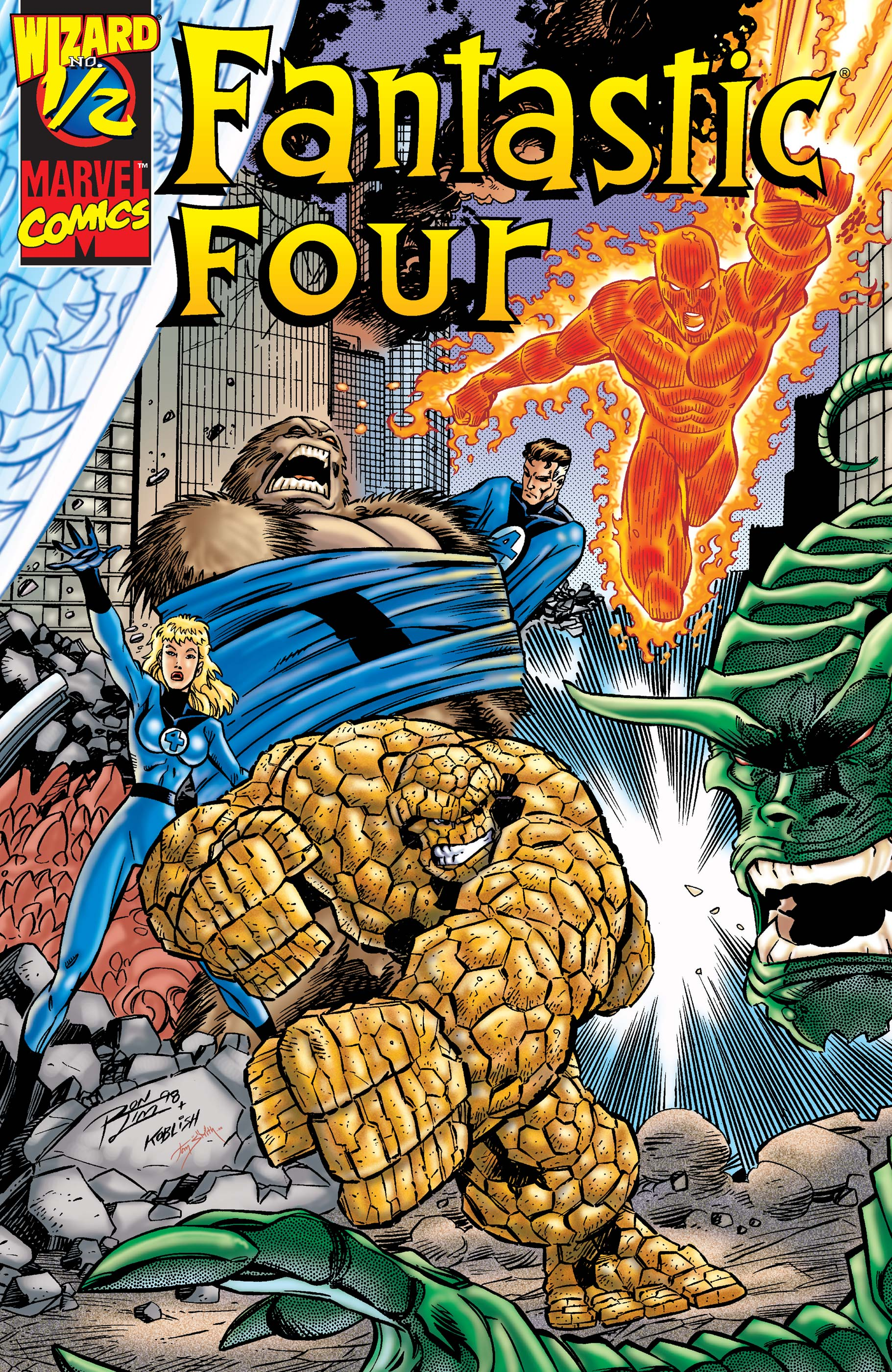 Fantastic Four (1998) #0.5