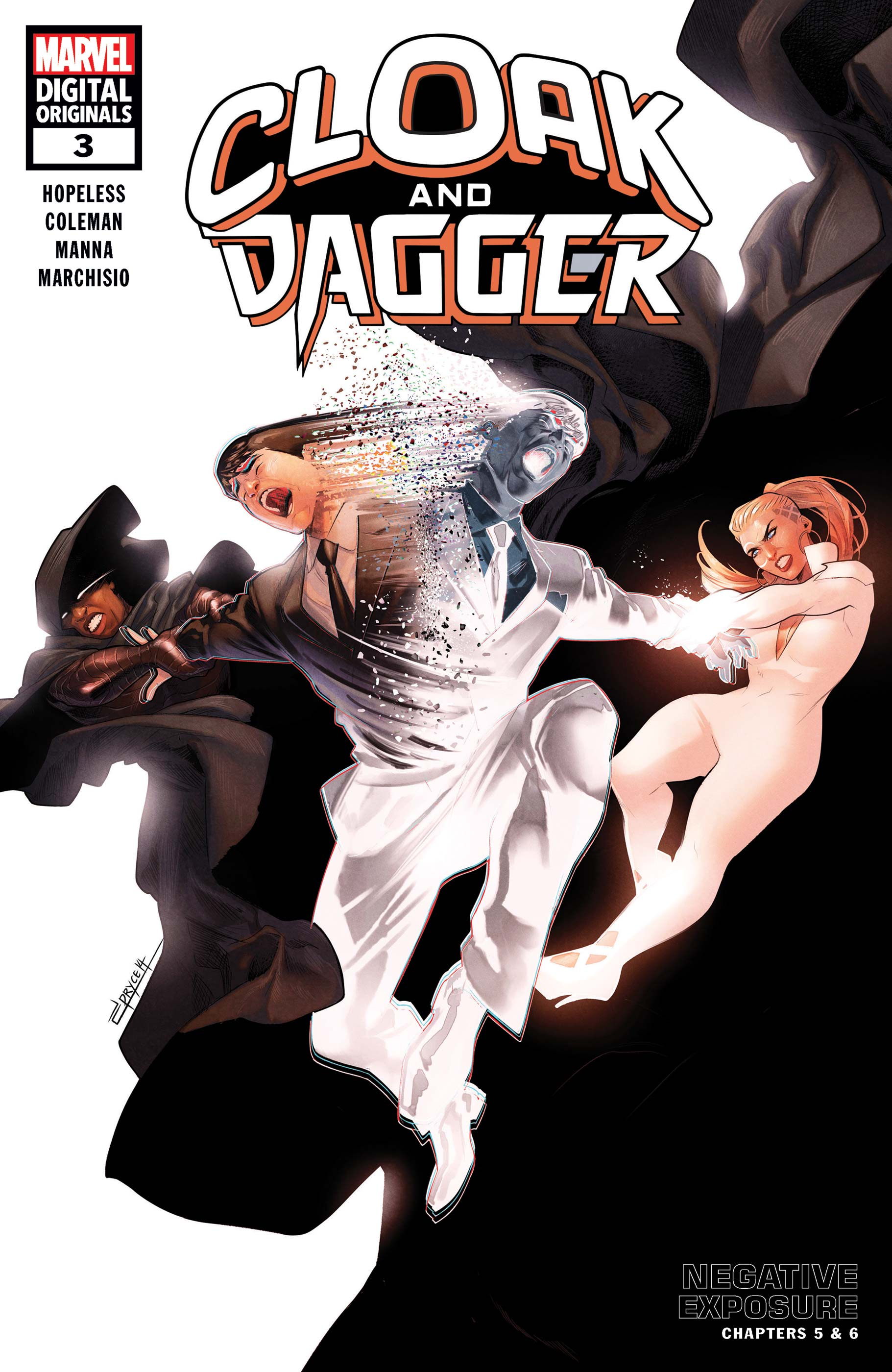 Cloak and Dagger: Marvel Digital Original - Negative Exposure (2018) #3