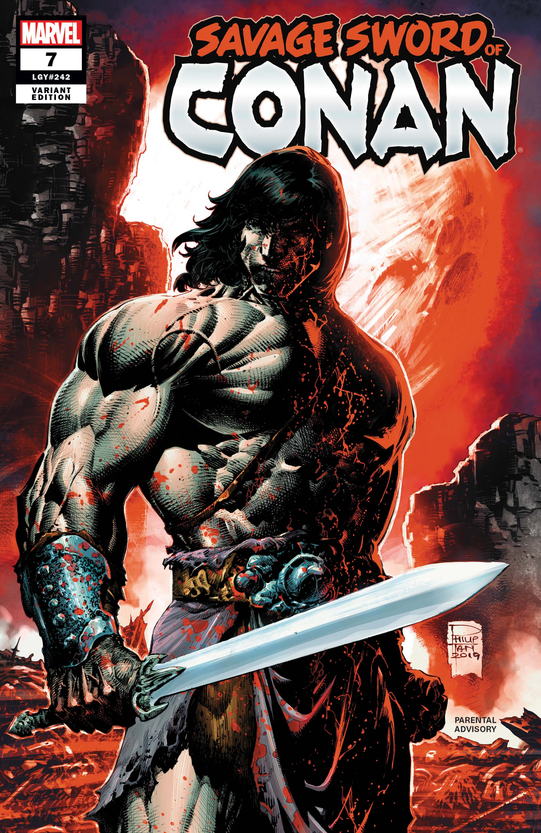 Savage Sword of Conan (2019) #7 (Variant)