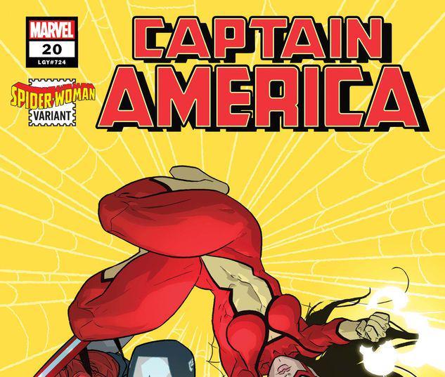 Captain America #20