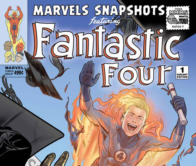 FANTASTIC FOUR: MARVELS SNAPSHOTS 1 DEWEY VARIANT #1