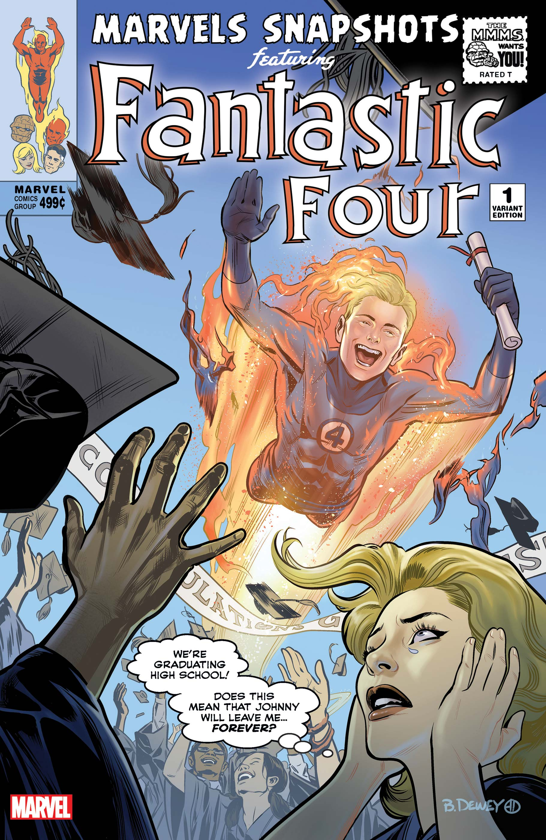 Fantastic Four: Marvels Snapshots (2020) #1 (Variant)