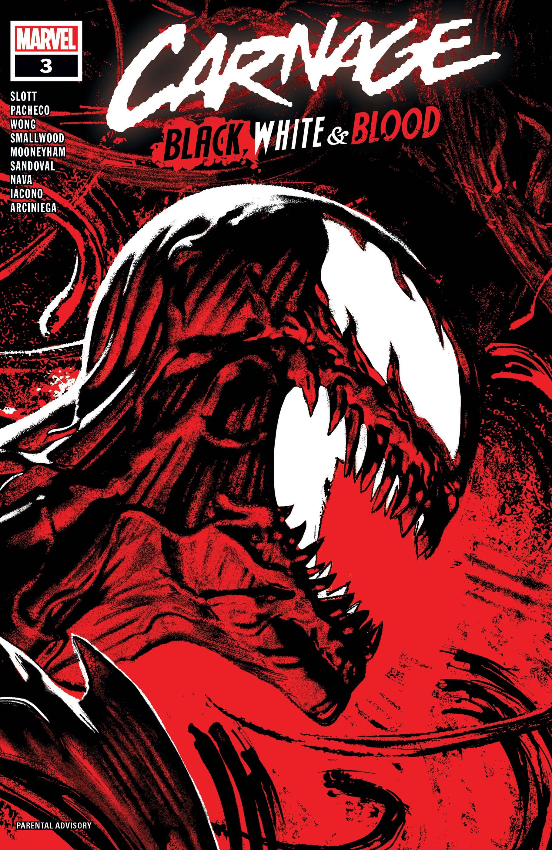 Carnage: Black, White & Blood (2021) #3