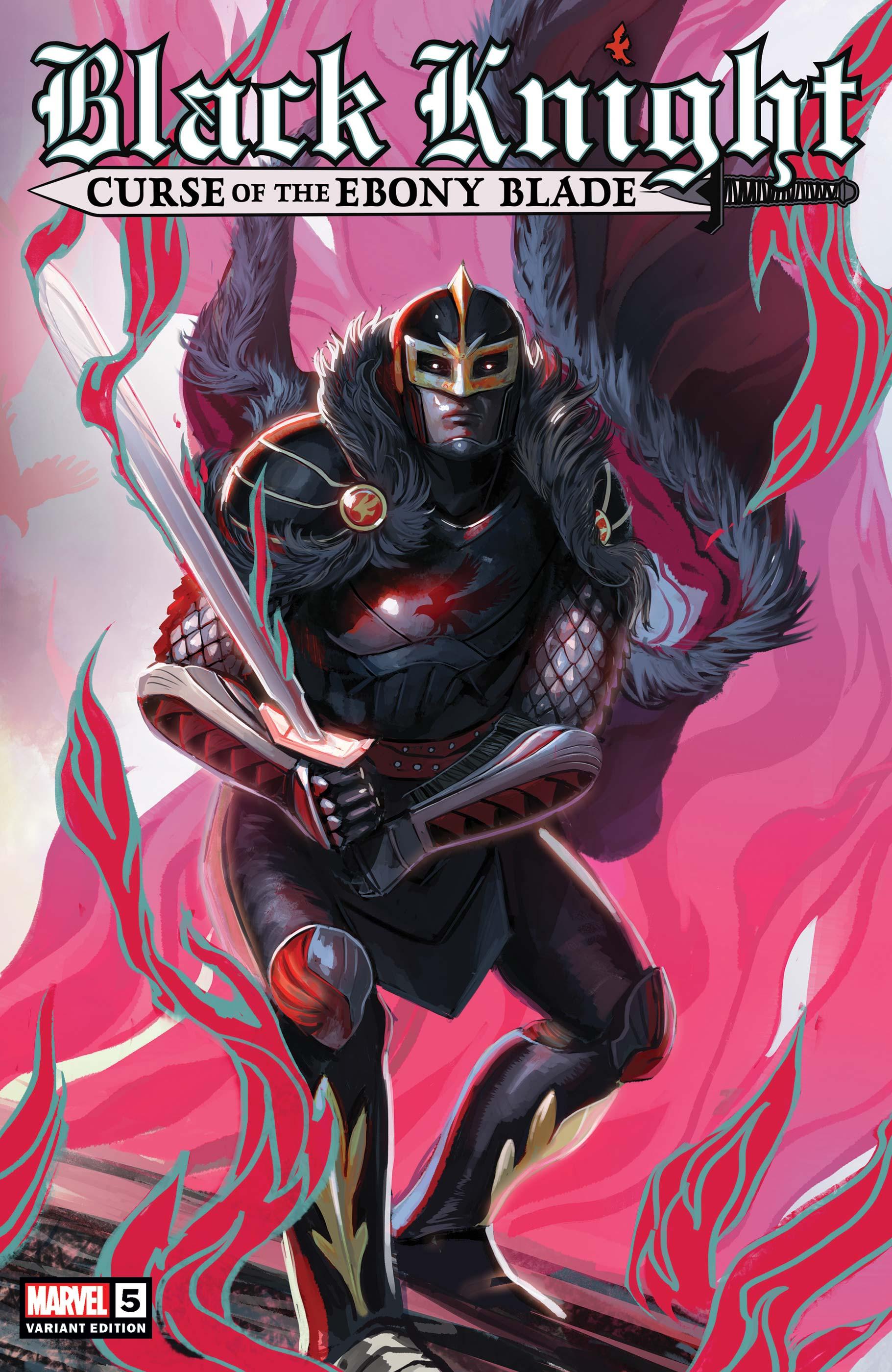 Black Knight: Curse of the Ebony Blade (2021) #5 (Variant)