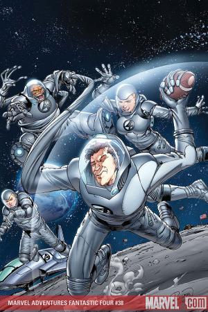 Marvel Adventures Fantastic Four (2005) #38