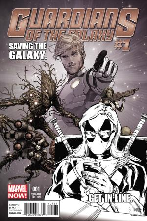 Guardians of the Galaxy (2013) #1 (Texts from Deadpool Sketch Variant)