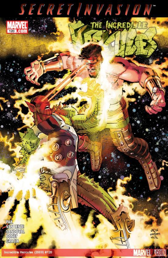 Incredible Hercules (2008) #120
