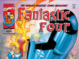 Fantastic Four (1998) #24 Cover