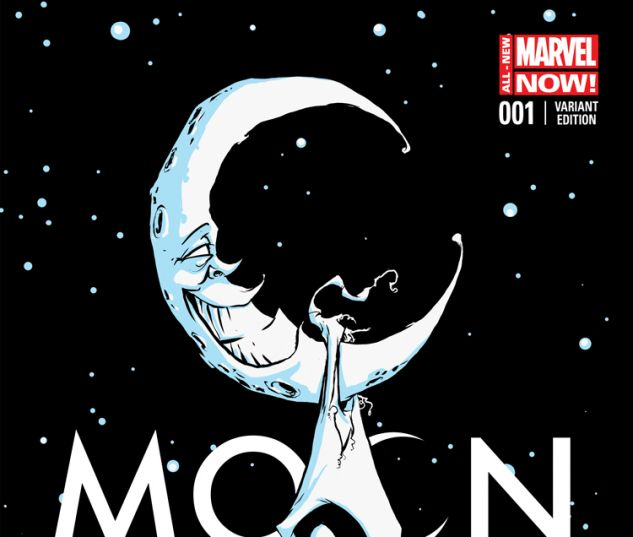 MOON KNIGHT 1 YOUNG VARIANT (ANMN, WITH DIGITAL CODE)