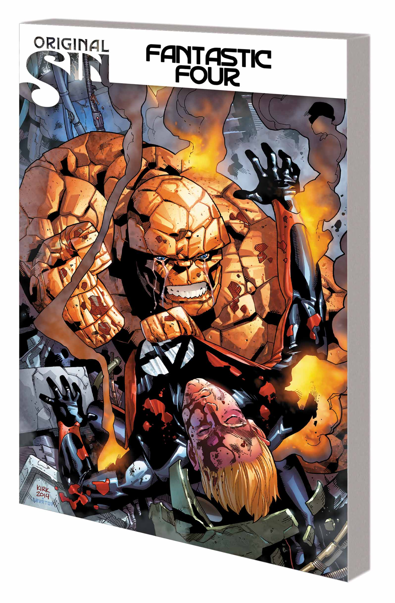 Fantastic Four Vol. 2: Original Sin (Trade Paperback)
