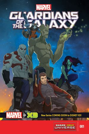 Marvel Universe Guardians of the Galaxy (2015) #1