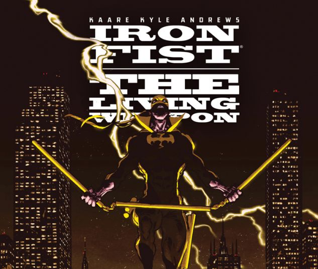 IRON FIST: THE LIVING WEAPON 12 (WITH DIGITAL CODE)