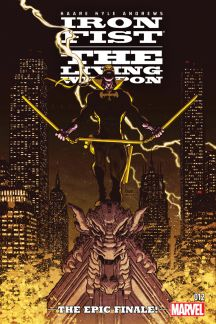 Iron Fist: The Living Weapon #12