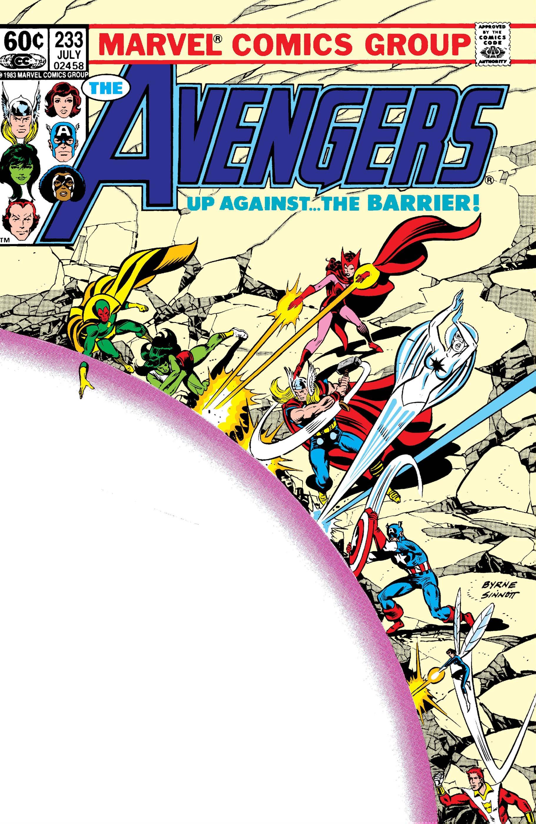 Avengers (1963) #233