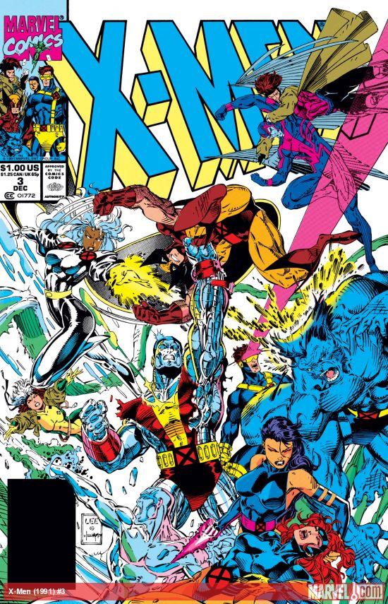X-Men (1991) #3