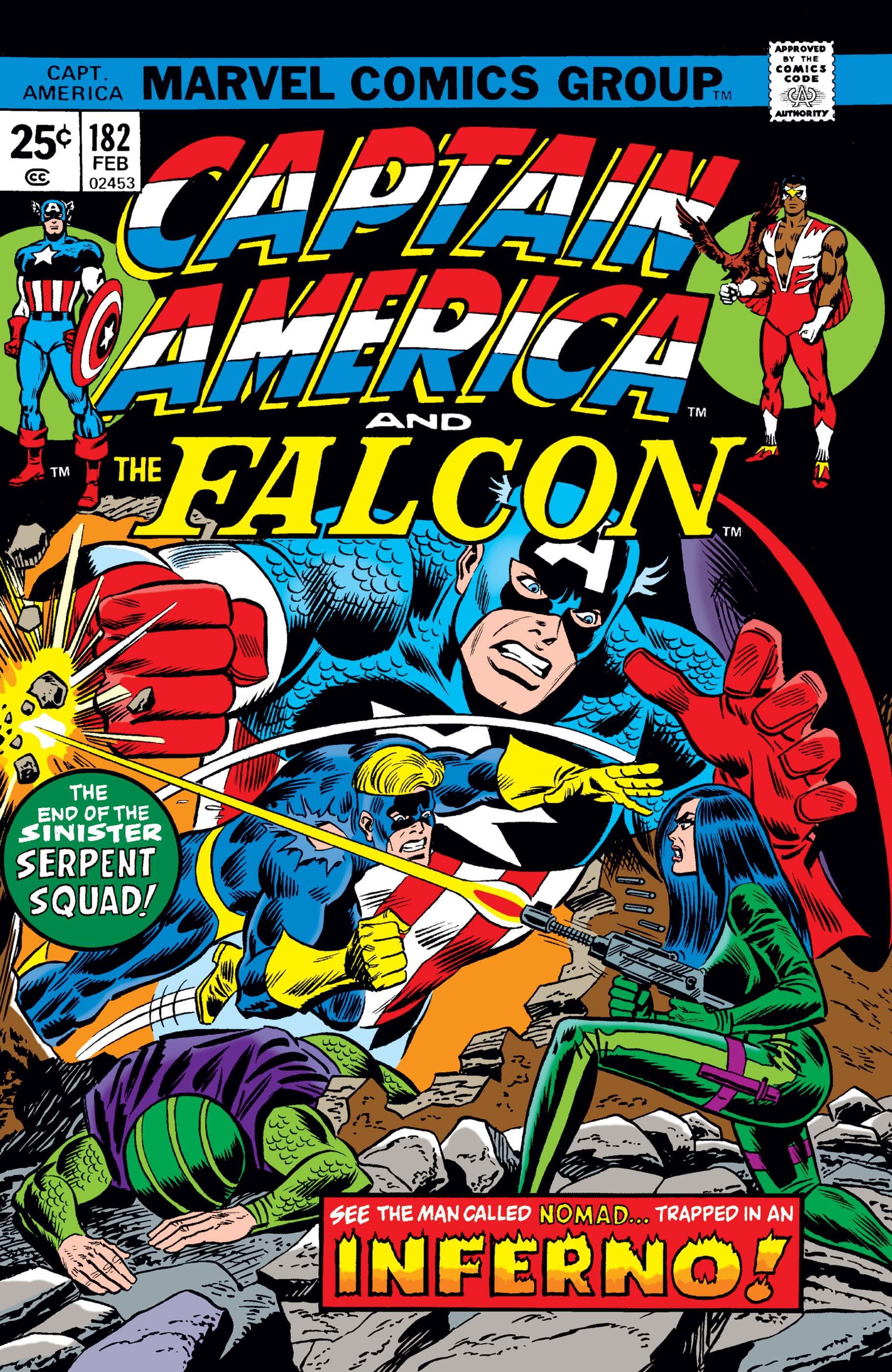 Captain America (1968) #182