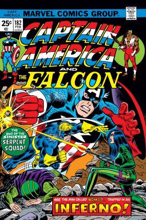 Captain America #182