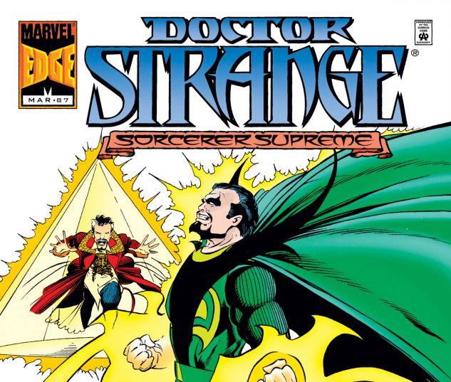 Cover for DOCTOR STRANGE, SORCERER SUPREME 87