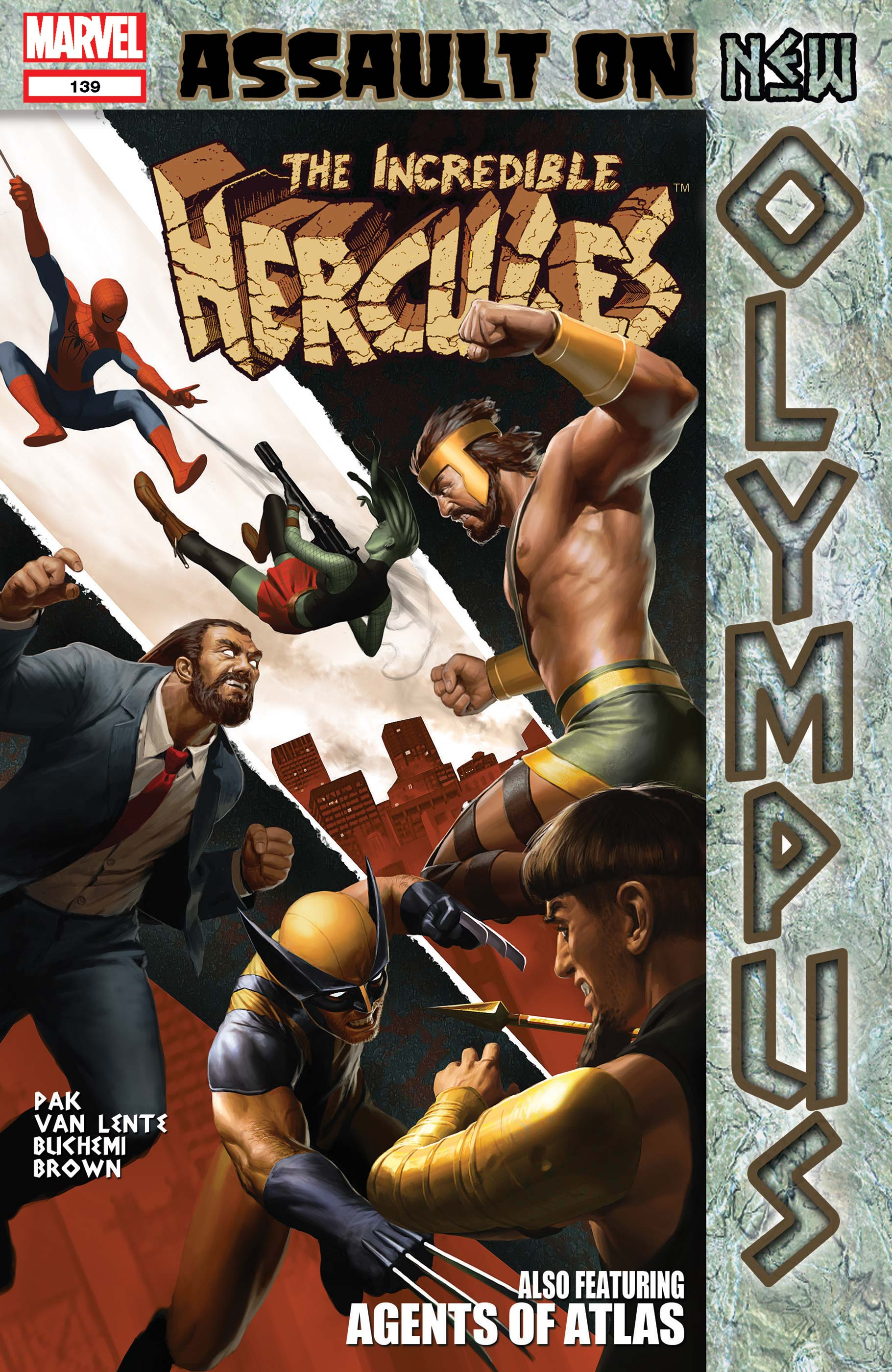 Incredible Hercules (2008) #139