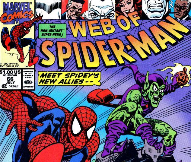 Web of Spider-Man (1985) #66