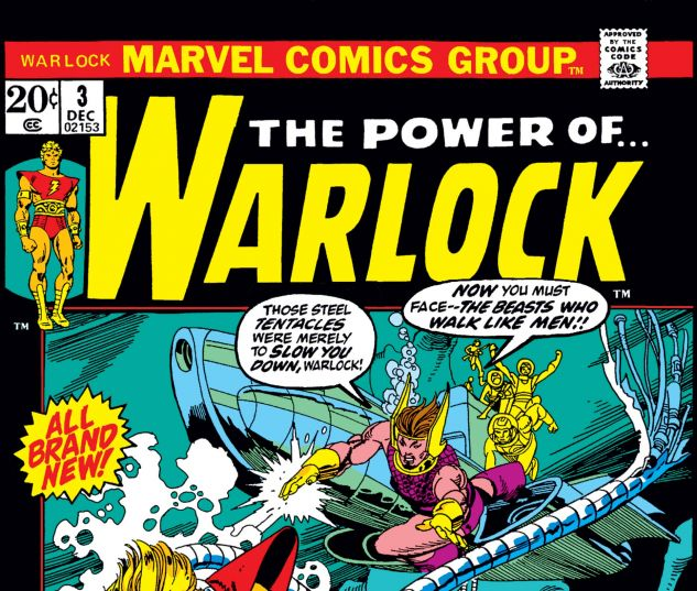 WARLOCK (1972) #3