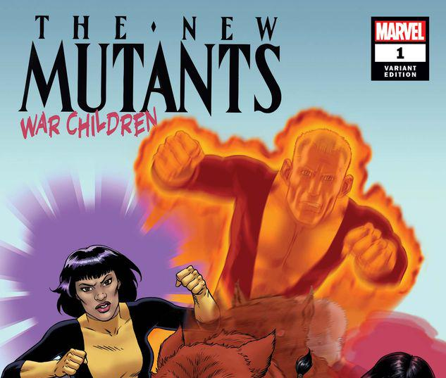 NEW MUTANTS: WAR CHILDREN 1 MCLEOD VARIANT #1